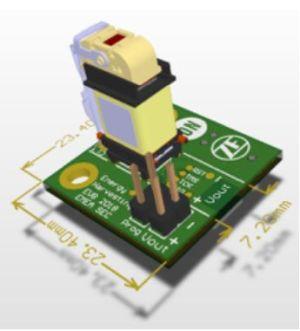 Interrupteur Bluetooth Low Energy avec récupération d'énergie | ZF