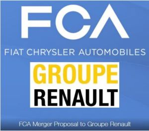 Renault va étudier la proposition de fusion de Fiat Chrysler Automobiles