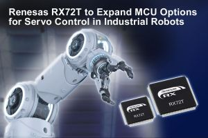 Microcontrôleurs optimisés pour la robotique industrielle et le contrôle moteur | Renesas