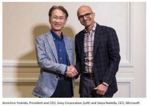 Sony et Microsoft vont coopérer dans les semiconducteurs et l'IA