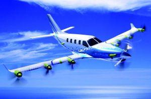 Daher, Airbus et Safran développent un démonstrateur d'avion à propulsion hybride distribuée
