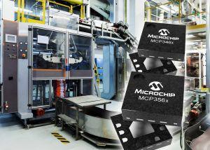 Convertisseurs analogiques-numériques à débits de données élevés | Microchip