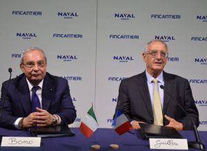 Naval Group et Fincantieri embarquent à bord du projet « Poseidon »