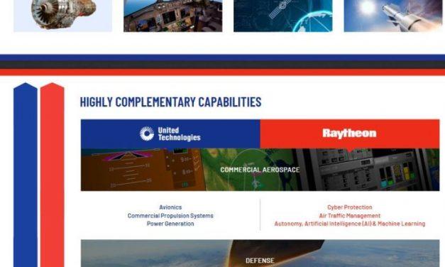Aéronautique et défense : Raytheon va fusionner avec United Technologies