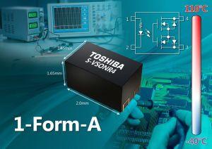 Photo-relais pilotables en basse tension | Toshiba