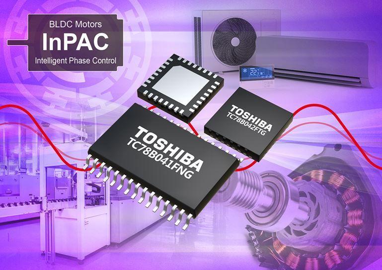 Contrôleurs de moteur triphasé sans-balais, à commande sinusoïdale | Toshiba