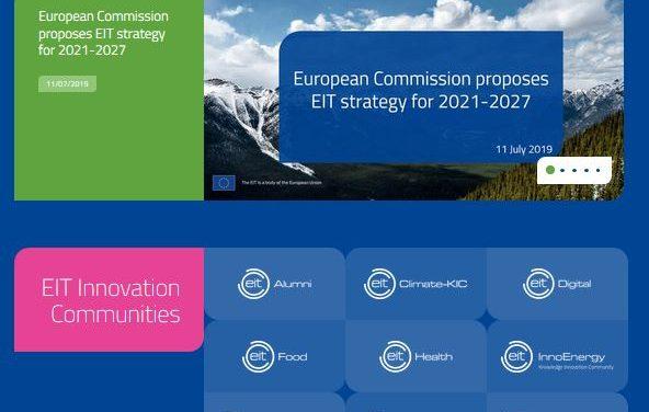 Stratégie 2021-2027 pour l'Institut européen d'innovation et de technologie