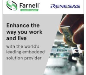 Farnell étoffe son portefeuille de produits avec Renesas Electronics
