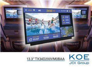 Ecran TFT 4K/2K de 13,3 pouces | KOE