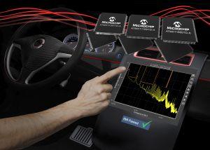 Contrôleurs d'écran tactiles capacitifs pour l'automobile | Microchip