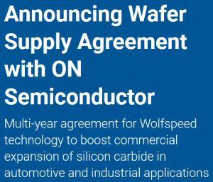 Tranches SiC : Cree remporte un contrat de 85 M$ auprès d'ON Semiconductor