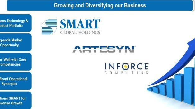 SMART Modular Technologies acquiert Artesyn Embedded Computing et Inforce Computing