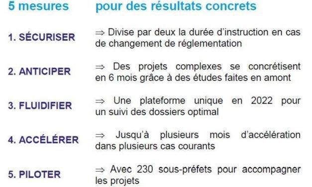 Cinq mesures pour accélérer les projets industriels et améliorer l'attractivité de la France