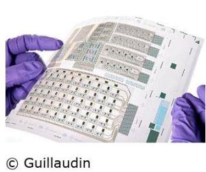 Le CEA-Liten réalise l'impression par rouleaux de transistors sur substrat plastique