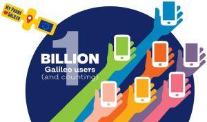 Le système européen de radionavigation par satellite Galileo atteint le milliard d'utilisateurs
