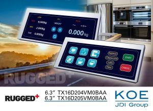 Ecran TFT 6,3 pouces au format « boîte aux lettres » | KOE