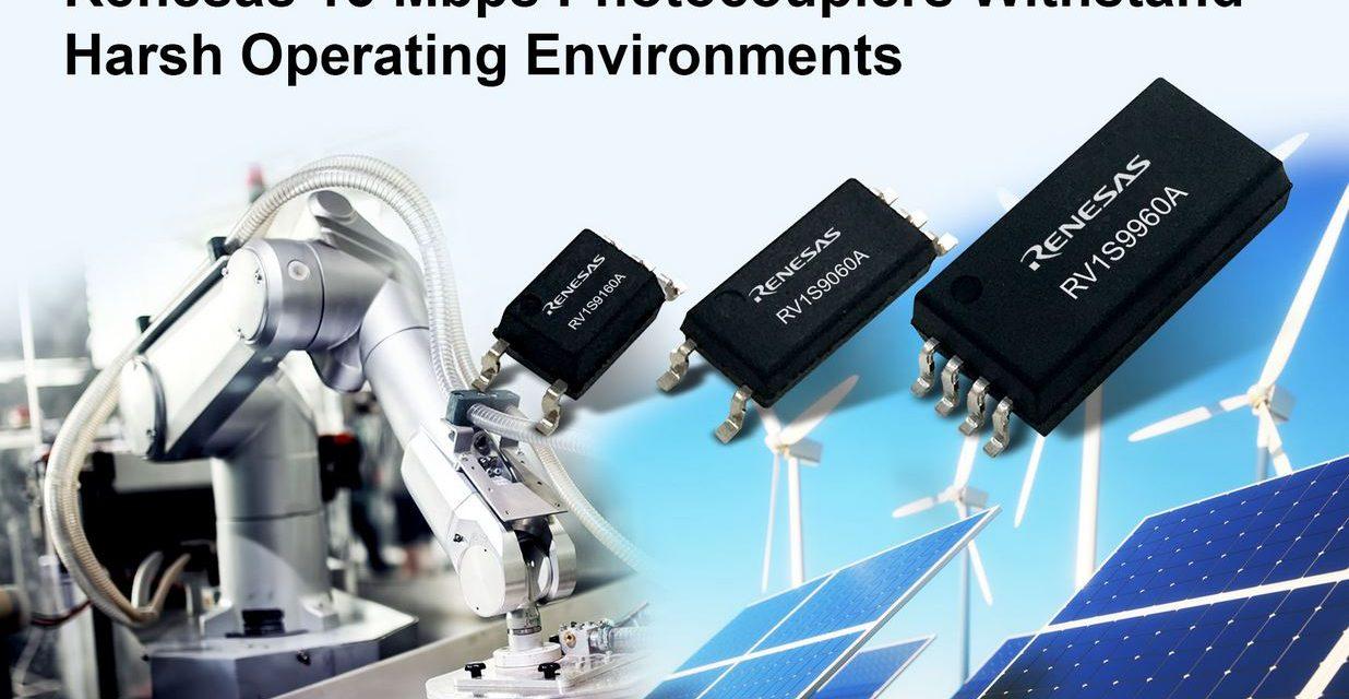 Photocoupleurs à 15 Mbps pour applications industrielles sévères | Renesas