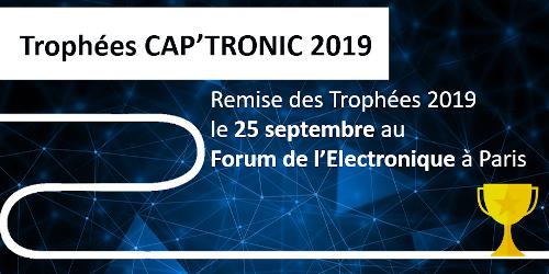 Cap'Tronic dévoile les 12 nominés de ses Trophées 2019