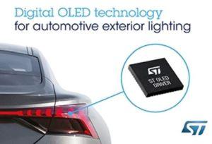 ST et Audi s'associent dans l'éclairage OLED pour l'automobile