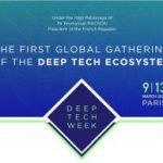 La première Deep Tech Week se tiendra à Paris en mars 2020
