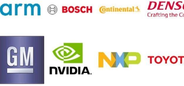 ARM, Bosch, Continental, Denso, GM, Nvidia, NXP et Toyota créent un consortium pour la voiture autonome