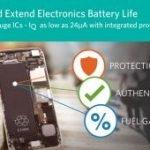 Jauges de batterie avec précision et courant de veille records | Maxim
