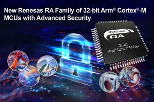 Microprocesseurs 32 bits avec sécurité avancée pour applications IoT intelligentes