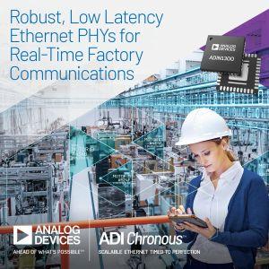 Solution pour environnement Ethernet industriel | Analog Devices