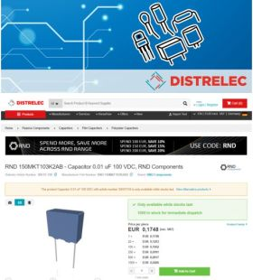 Le distributeur Distrelec s'allie à TraceParts pour l'implantation de modèles 3D