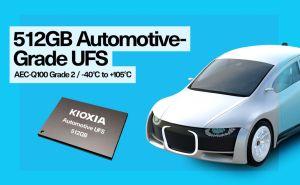 Première mémoire UFS 512 Go pour l'automobile | Kioxia