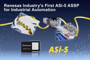 Premier circuit dédié ASi-5 pour l'automation industrielle | Renesas