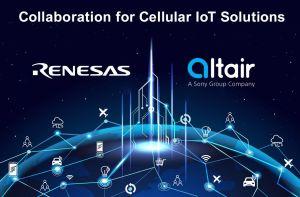 Renesas s'allie à Altair Semiconductor dans l'IoT cellulaire
