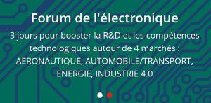 Le Forum de l'Electronique se décline en régions sous l'aile du SEPEM