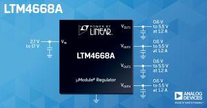 Régulateurs µModule DC/DC quadruple sortie | Analog Devices
