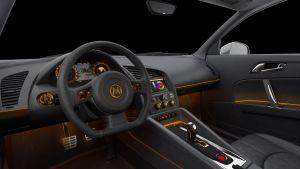 Contrôleur LIN pour l'éclairage d'ambiance automobile | Melexis