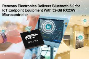 Microcontrôleur 32 bits sécurisé pour connexion Bluetooth 5.0 | Renesas