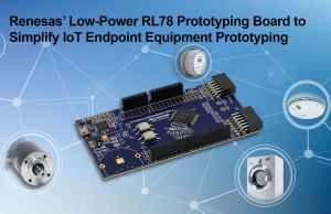 Carte de prototypage IoT basse consommation | Renesas Electronics
