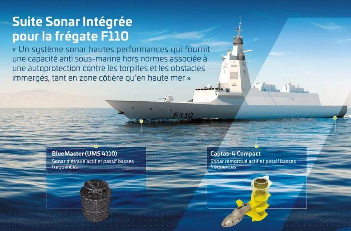 La marine espagnole sélectionne la suite sonar intégrée de Thales