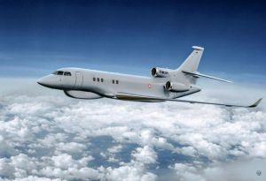 Renseignement : le Falcon 8X Archange au service de l'armée de l'Air