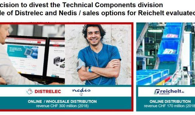 Distribution : Datwyler cède Distrelec et Nedis et étudie la vente de Reichelt Elektronik
