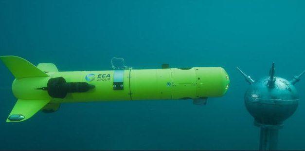 ECA Group construira une usine de drones navals de déminage à Ostende