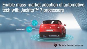 Processeurs pour l'ensemble des équipements automobiles | TI