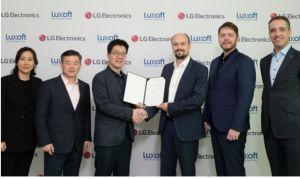 LG Electronics et Luxoft créent une société commune pour des expériences numériques dans l'automobile