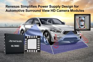 Circuit de gestion d'alimentation pour systèmes de caméras dans l'automobile | Renesas