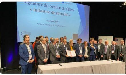 Signature du contrat stratégique de la filière « Industries de Sécurité »