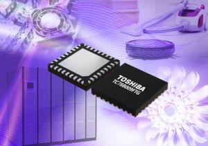 Contrôleur de moteur triphasé sans balais à drivers de grille intégrés | Toshiba