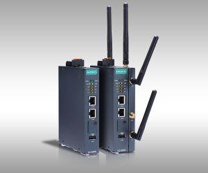 Passerelles IIoT ARM double coeur à connectivité 4G LTE/Wi-Fi | Moxa