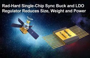 Régulateur POL à double sortie durci aux radiations pour satellites   Renesas
