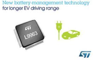 Contrôleur de gestion de batterie | STMicroelectronics