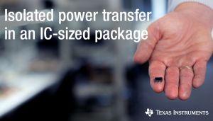 Transformateur intégré isolé, optimisé pour la gestion des IEM | TI